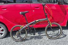 自転車の変速機の調整