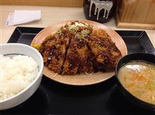 2014.4.14.今日の晩ご飯は、とんかつ!