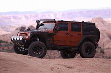 【車道楽日替セール】SUV&トラック祭り Jeep ラングラー用 ブラックライノ モアブ 20インチ+ホイールコーティング『アロイドロップ』セット