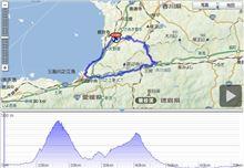 四国三県を自転車で廻る