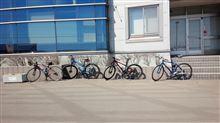 本日も自転車日和