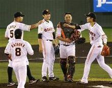巨人・菅野、単独トップの4勝目「最後まで投げると決めていた」
