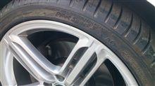 タイヤ交換その後。