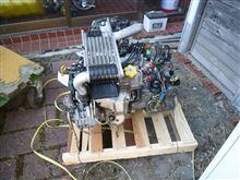 部品取り用E型RSエンジン&ミッション