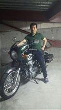 オートバイに癒される生活