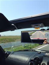 オープンでドライブ( 日焼けした… )