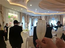 後輩の結婚式で神戸へ