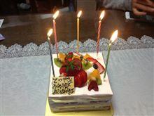 何回目の誕生日だったっけ・・・・。