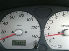 末娘のワゴンRのオイル交換(ODO105800km)