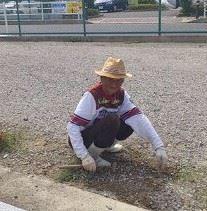 クシャおじさん発見しました!!(*^_^*)