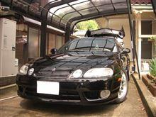久しぶりの洗車 (^o^)