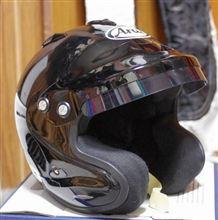 ヘルメットをカラーリング!