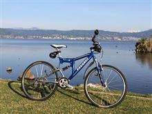 諏訪湖周回サイクリングを始めてみた…♪