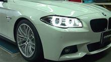 LEDは格別にカッコいいねっ!BMWデイライト
