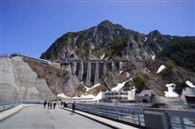 富山旅 part2~黒部ダム / 雪の大谷 / 剱・立山、北アルプス