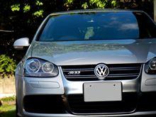 朝日を浴びる前に洗車VW-222(16)  ・・・o(▼_▼θ
