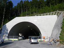 トンネル工事現場...