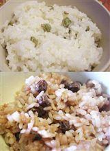 色が変わるエンドウ豆、ツタンカーメン。