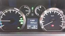 福島往復の燃費