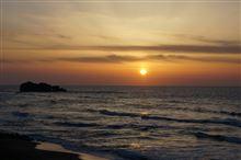 地味に夕日の名所。【鳥取方位鳥8日目】
