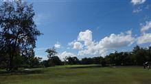暑いけどゴルフは最高!