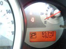 第124回ティーダアクシス燃費記録