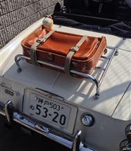 35年前のスーツケース