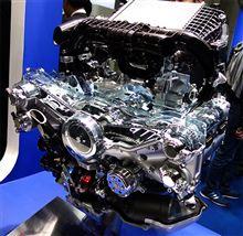 【JSAE2014】人とくるまのテクノロジー展2014 Subaru FB16DIT