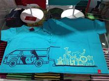 福祉車両のイラストTシャツ納品