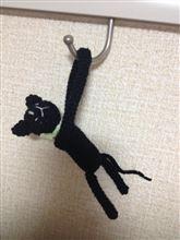 黒猫のあみぐるみ