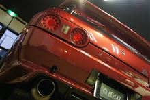 20年間愛され続けた平成の名車 NISSAN スカイライン GT-R BNR32型 ガラスコーティング施工【リボルト東京EAST】