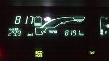 アクア、「800キロ」走破!  あと、「200キロ」走れるか?