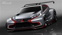 三菱 XR-PHEV エボリューション 発表…GT6 のための究極「エボ」!!