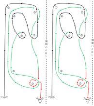 バトルジムカーナ2014 Rd.2 コース図