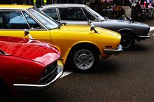 昭和の車展示会へ