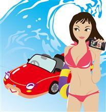 夏のソーラーパワーでお車を元気にしちゃいましょう。