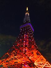 サムライブルー@東京タワー