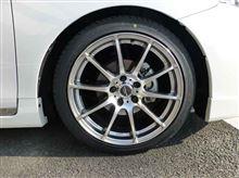 タイヤ交換 完了!