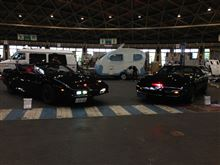 名古屋ポートメッセ  ノスタルジックカーフェスティバル  展示中