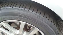 タイヤをミシュラン・プライマシー3に交換しました。
