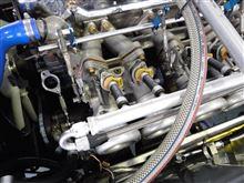 L6 SKスロットル インジェクター交換