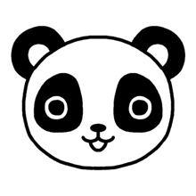 白黒パンダ