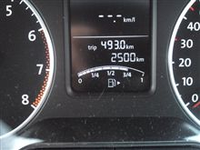 〈愛車〉祝!2.500km達成o(^-^)o