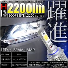 明るくそして大幅進化!LEDハイビーム!