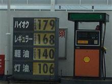 ガソリン高騰が酷い