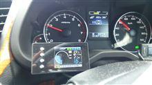 evc6を付けてみて…、燃費は!?