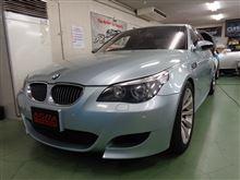 BMW M5 ドライブレコーダー取付 神奈川県よりご来店