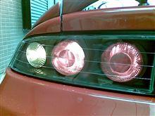 テールランプ2灯から3灯に変更完了!