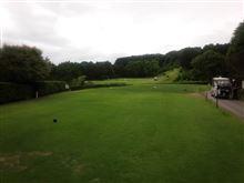 梅雨の合間のゴルフ