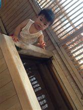 旅館にて初露天風呂☆